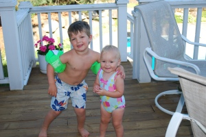 Brady and Lily