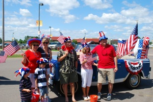 Lac du Flambeau 4th of July Parade