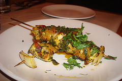 More Terzo...Cilantro Grilled Chicken Skewers