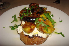 Fig Goat Cheese Bruchetta