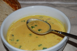 Pumpkin Wild Rice Soup